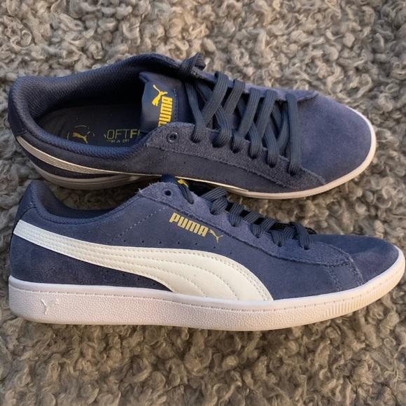 Puma Shoes | Puma Blue Suede Classic